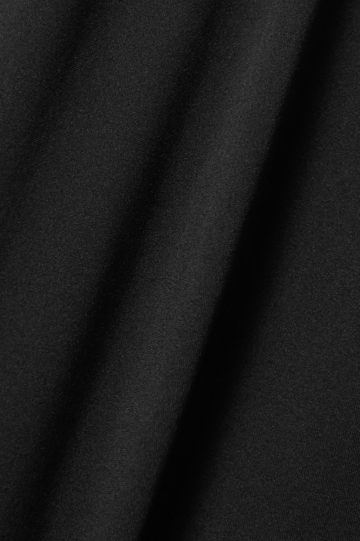Helmut Lang Cutout stretch-jersey turtleneck top
