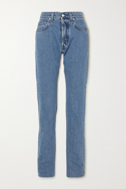Helmut Lang Masc Hi high-rise straight-leg jeans