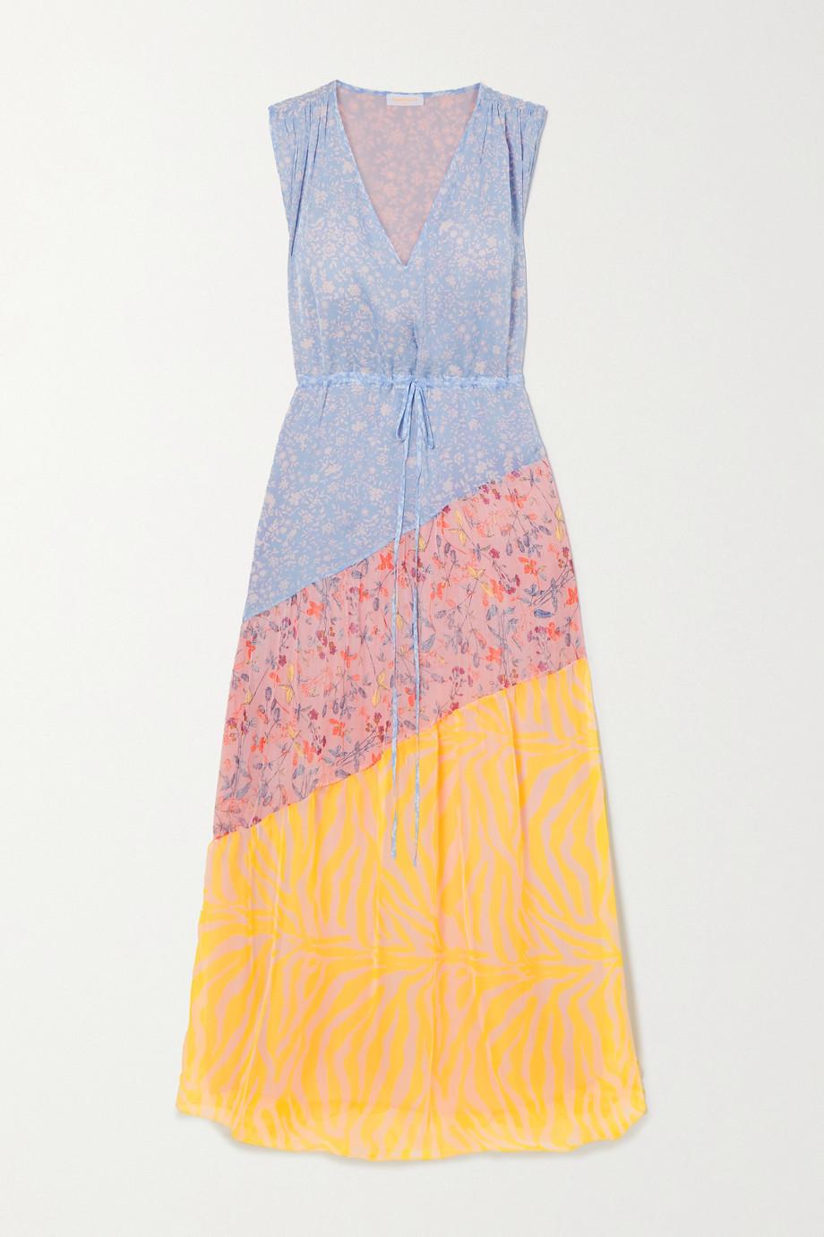 Eywasouls Malibu Robe longue en voile imprimé Natalia