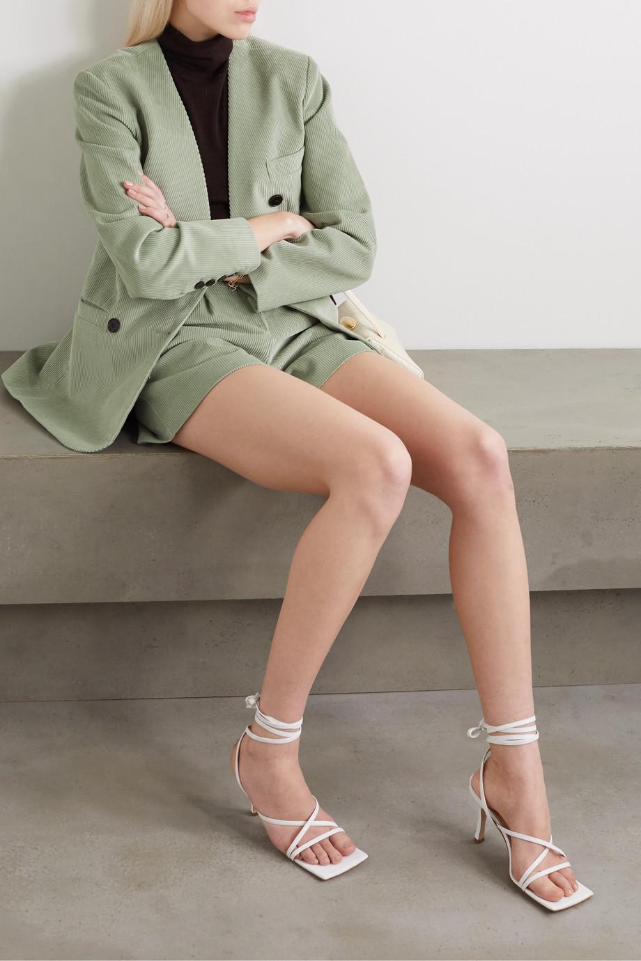Frankie Shop Gala cotton-corduroy blazer