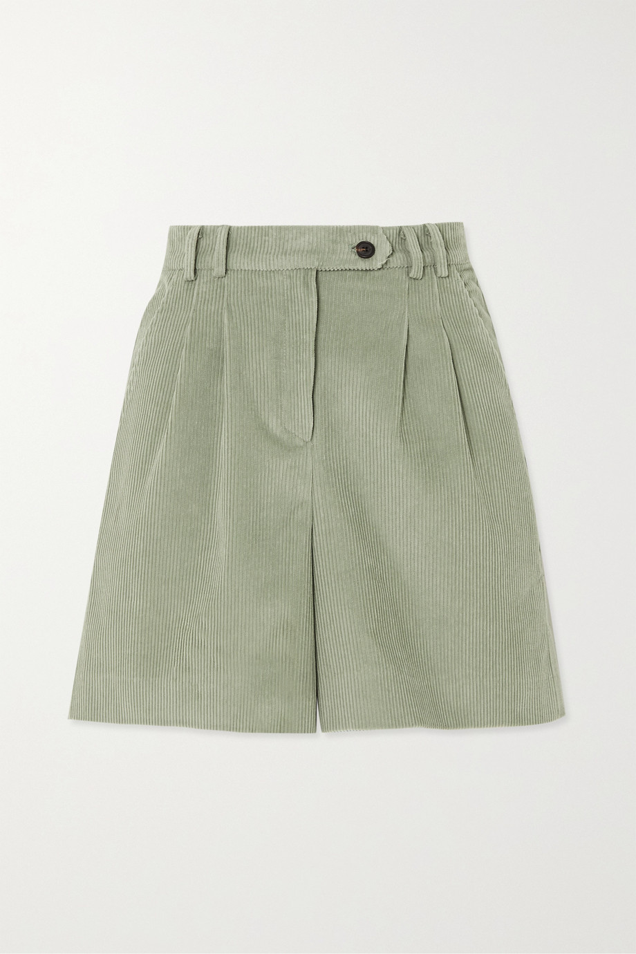 Frankie Shop Gala cotton-corduroy shorts