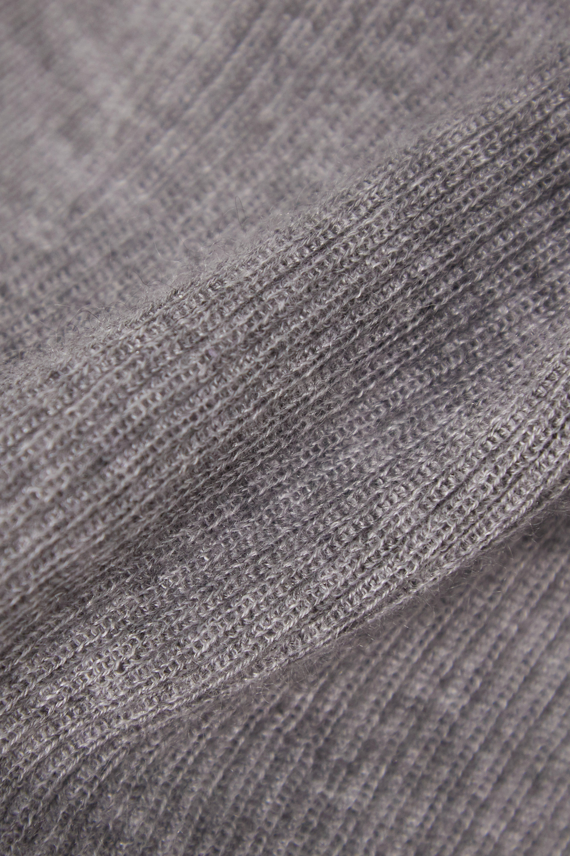 Gabriela Hearst Julian ribbed cashmere and silk-blend top
