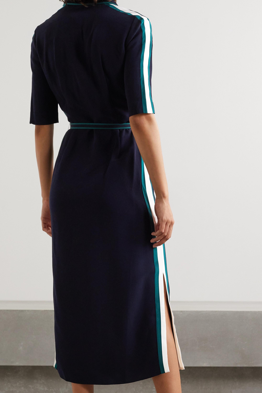 Gabriela Hearst Witley belted striped cady shirt dress