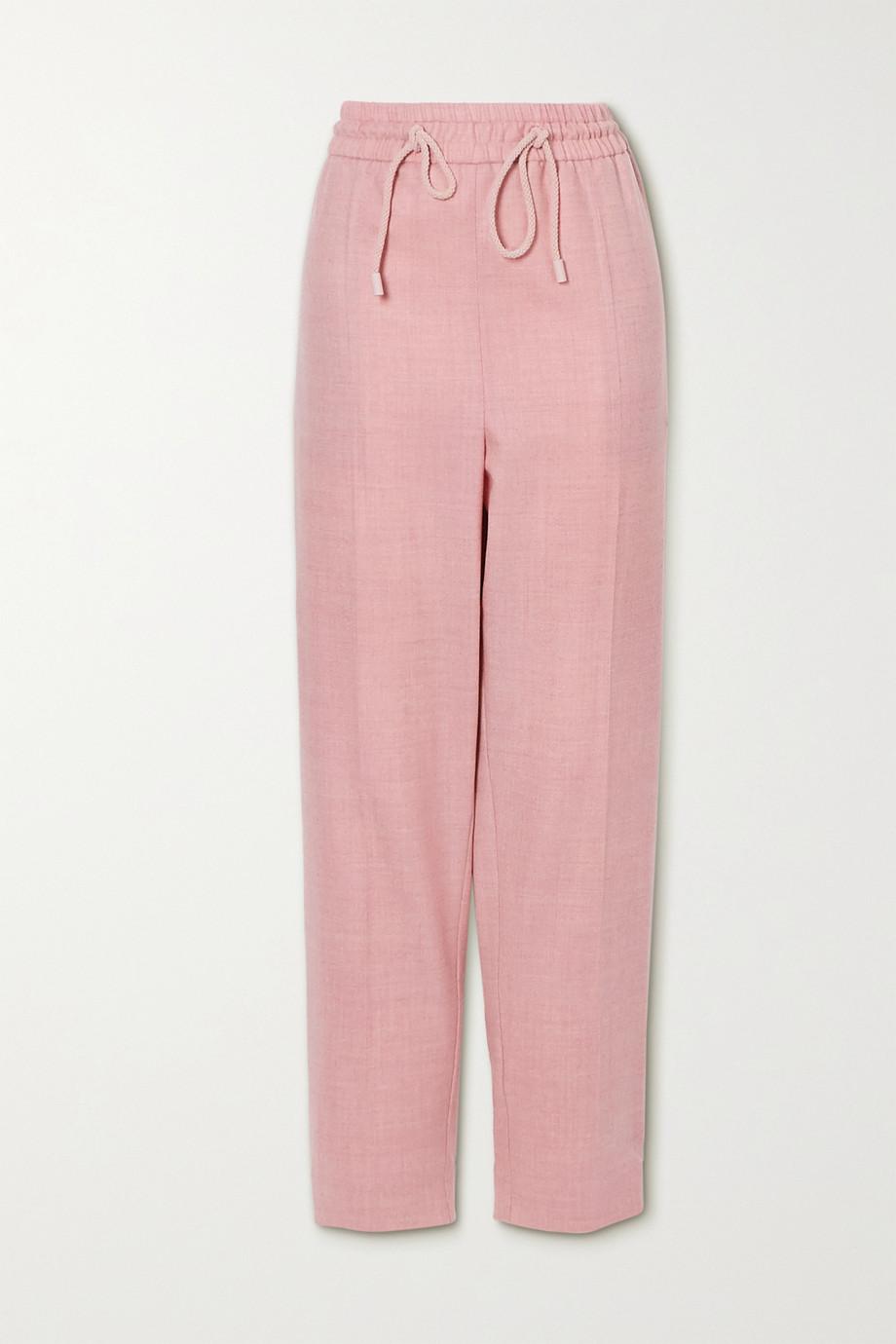 Roksanda Palmira wool-blend twill tapered pants