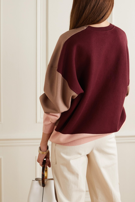 Roksanda Karuo color-block knitted sweater