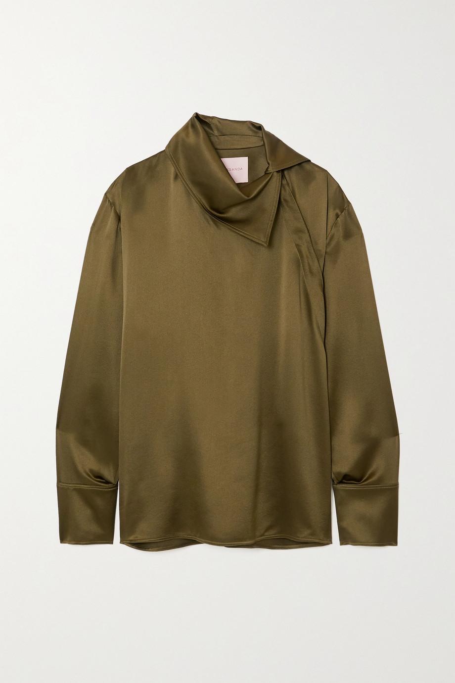 Roksanda Sierra silk-satin blouse