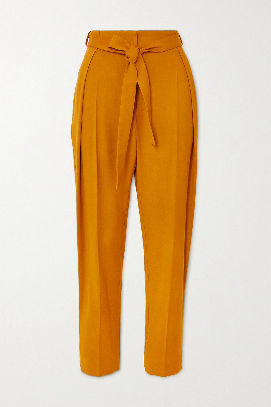 Roksanda Goya belted twill tapered pants