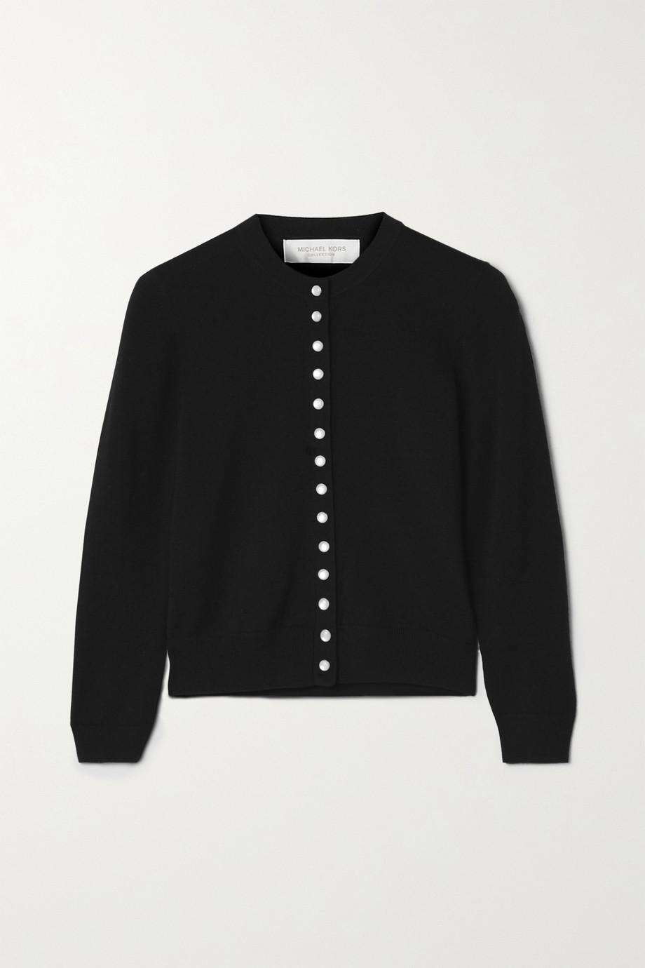 Michael Kors Collection Merino wool cardigan