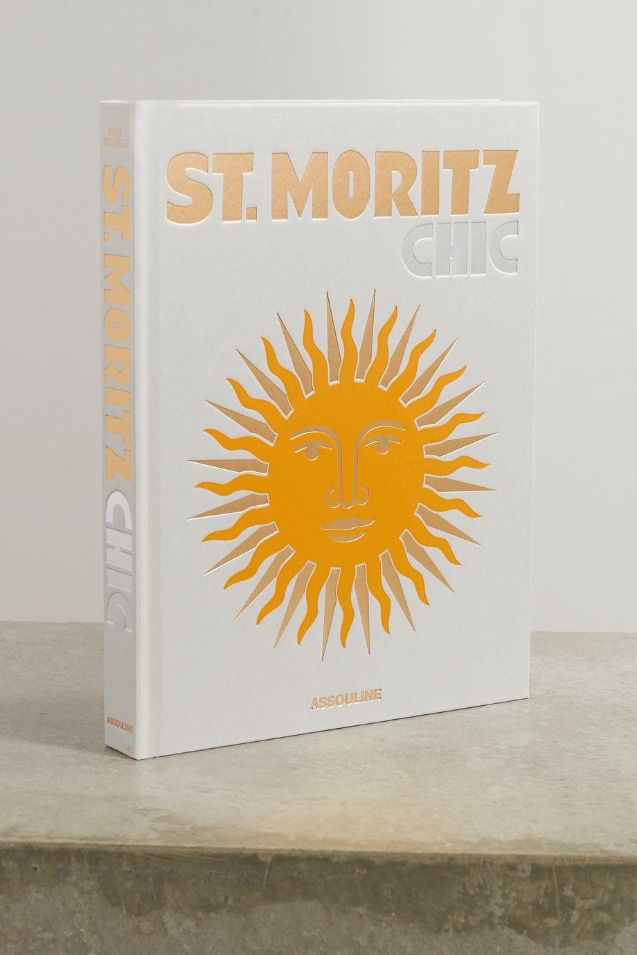 Assouline 《St. Moritz Chic》,作者:Dora Lardelli,硬皮精装本