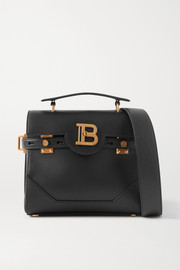 Balmain B-Buzz 23 leather shoulder bag