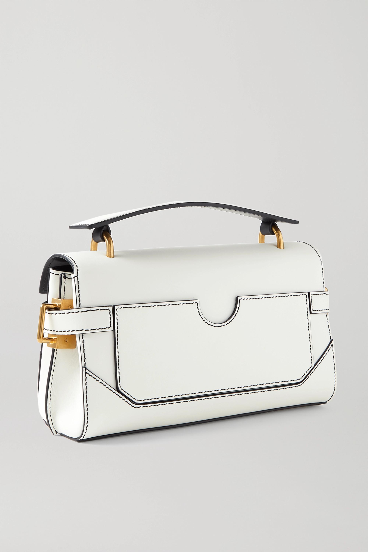 Balmain B-Buzz 26 medium leather shoulder bag