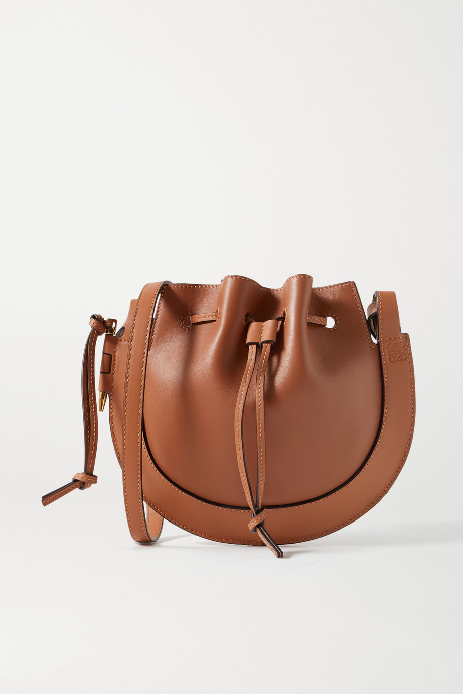Loewe Horseshoe leather shoulder bag