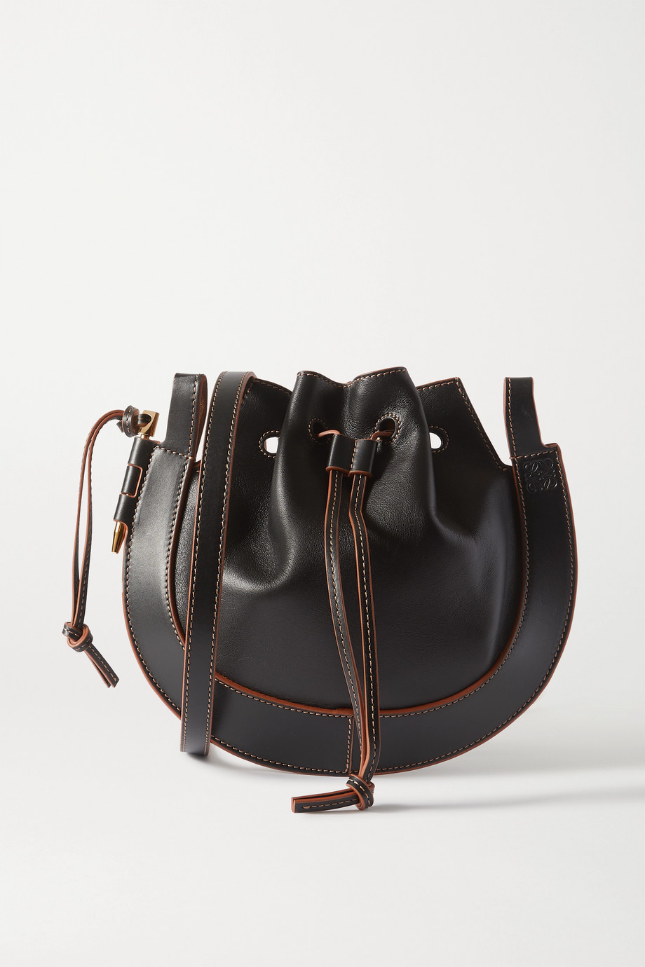 Loewe Horseshoe Schultertasche aus Leder