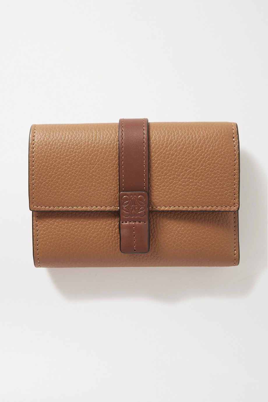 Loewe Portefeuille en cuir texturé
