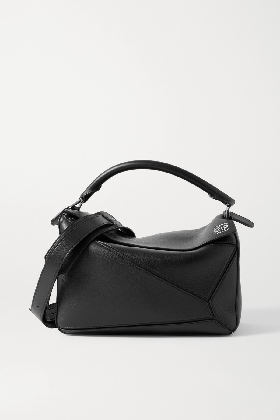 Loewe Puzzle medium smooth and textured-leather shoulder bag