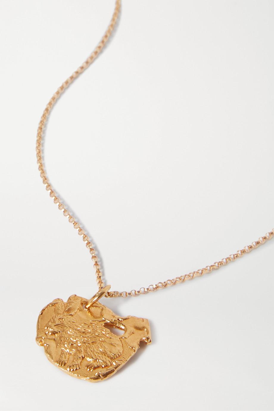 알리기에리 토끼 목걸이 20SS 12지신 시리즈 Alighieri Year of the Rabbit gold-plated necklace,Gold