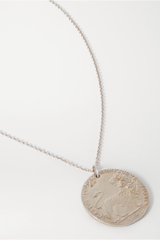 Alighieri Lion silver necklace