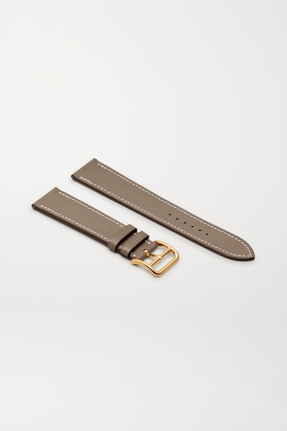 Hermès Timepieces Heure H 26.4mm leather watch strap