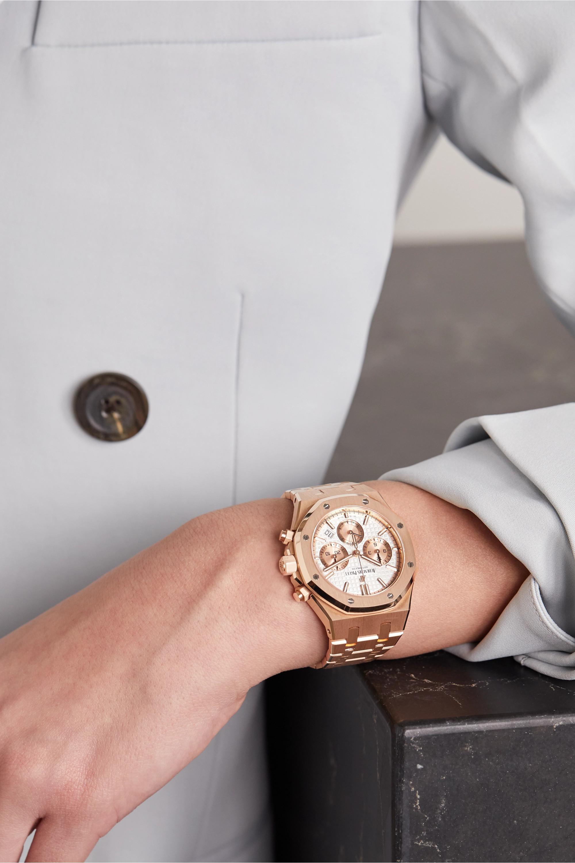 Audemars Piguet Royal Oak Automatic Chronograph 38mm 18-karat pink gold watch