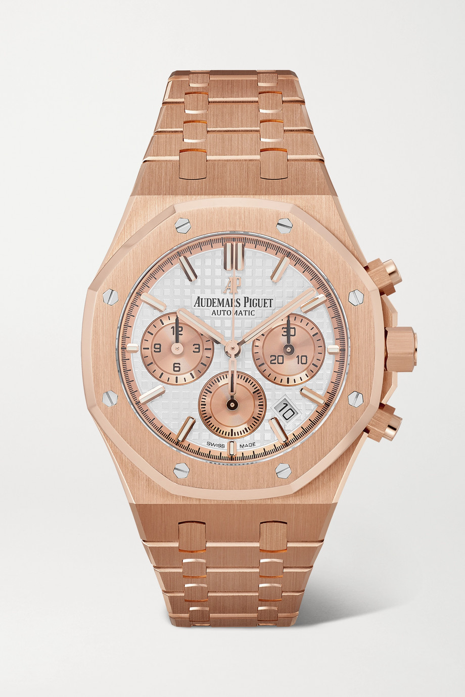 Audemars Piguet Royal Oak Automatic Chronograph 38mm 18-karat pink gold watch