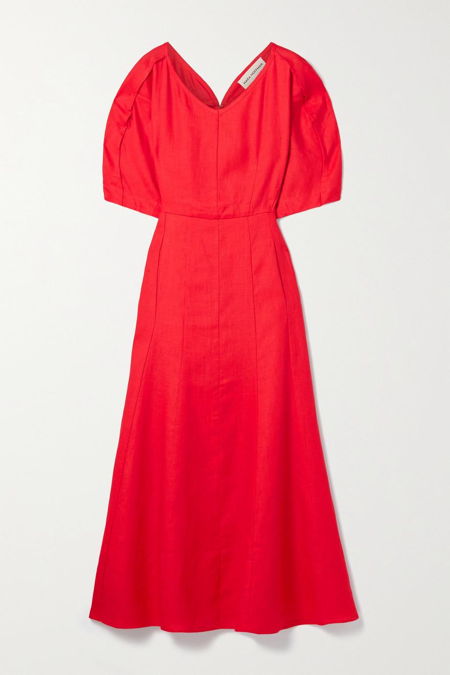 Mara Hoffman Sicily hemp midi dress