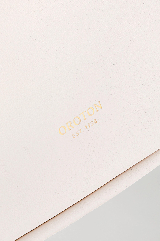 Oroton Celia XL 皮革手拿包