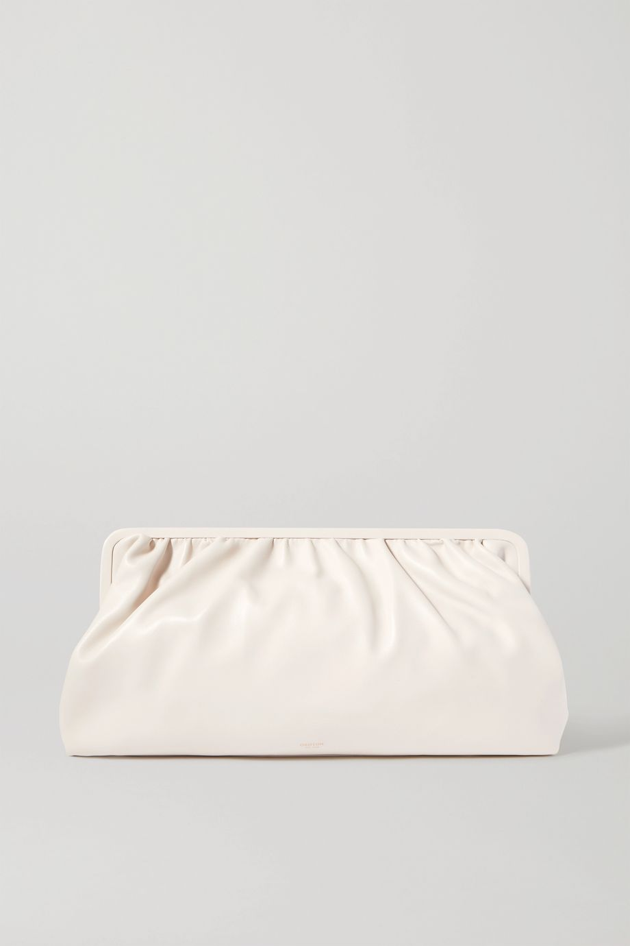 Oroton Celia XL leather clutch