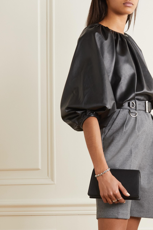 Oroton Hazel leather shoulder bag