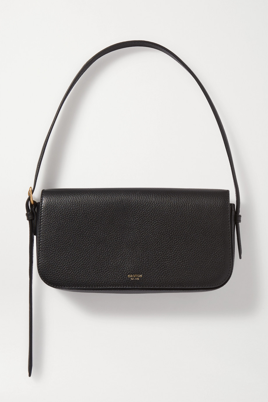 Oroton Anouk textured-leather shoulder bag