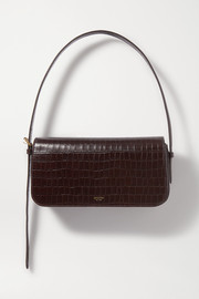 Oroton Muse croc-effect leather shoulder bag