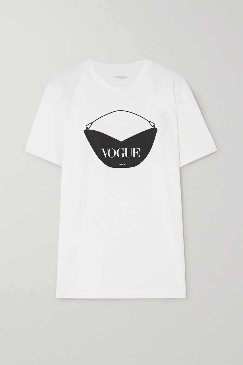 S.Joon + VOGUE printed organic cotton-jersey T-shirt