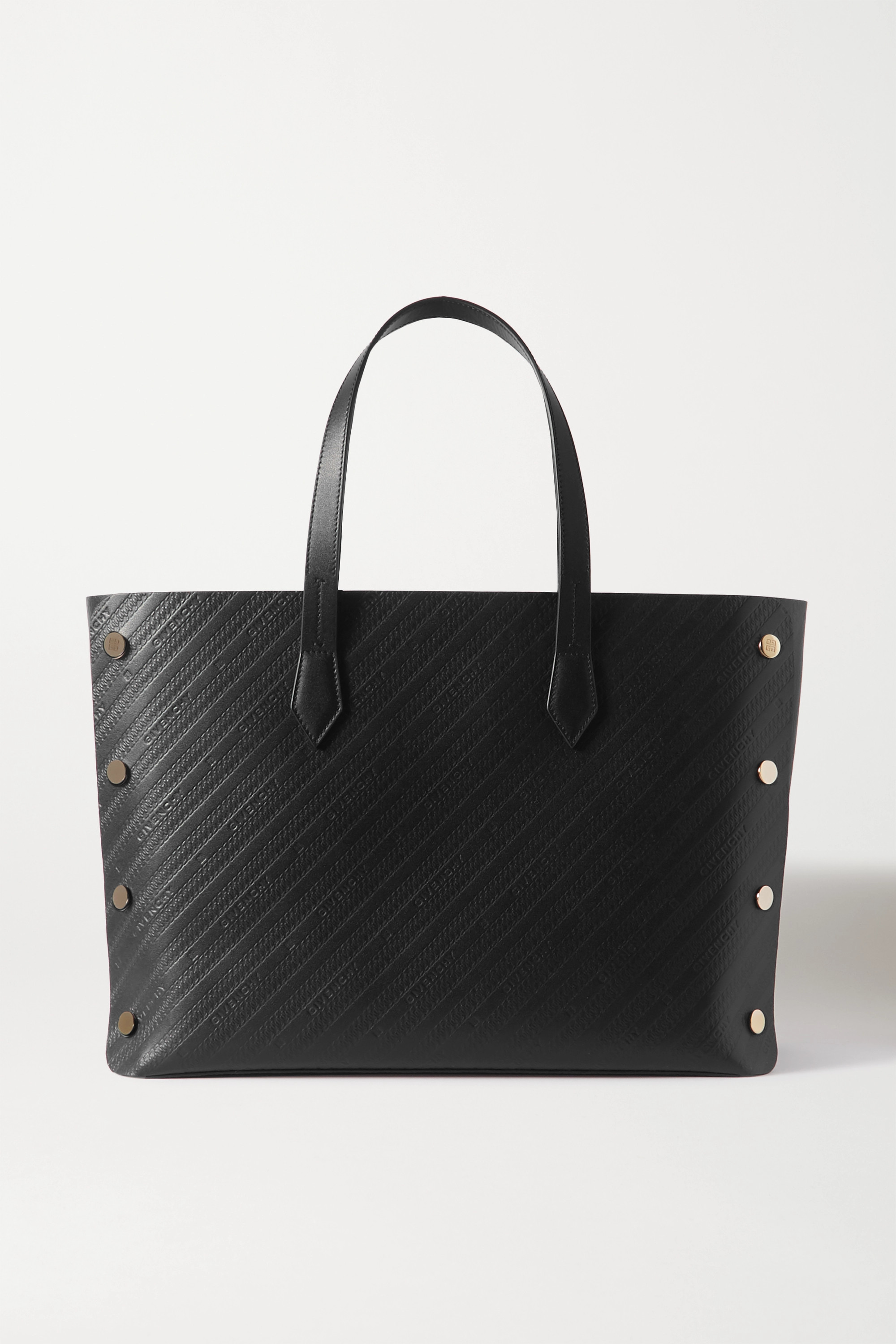 Givenchy Bond medium studded embossed leather tote