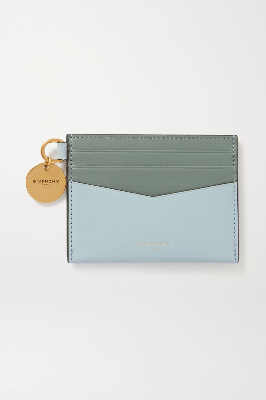 Givenchy Two-tone leather cardholder