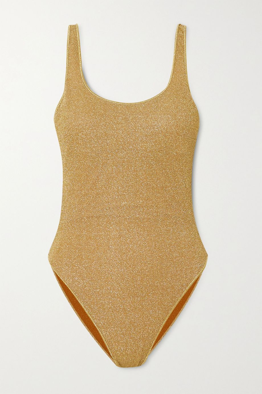 Oséree Stretch-Lurex swimsuit