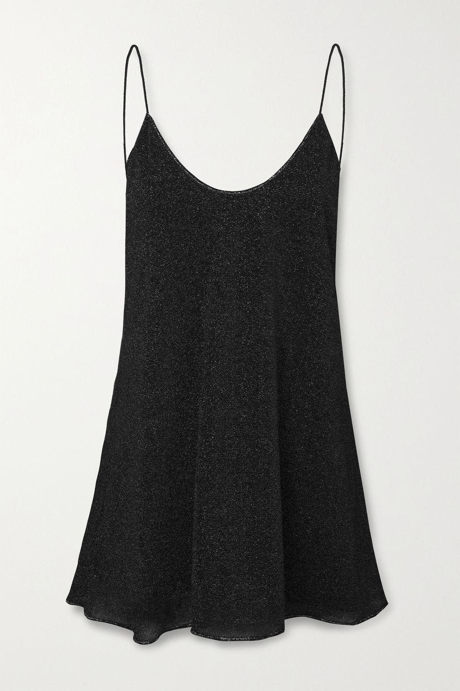 Oséree Lumière Lurex mini dress