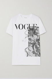 ioannes + VOGUE printed organic cotton-jersey T-shirt
