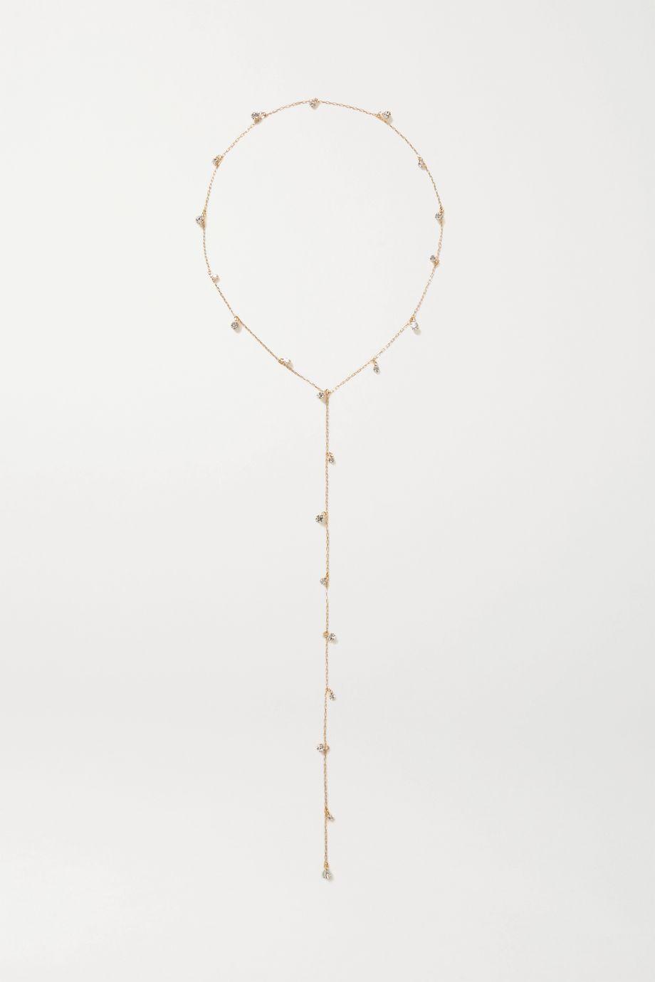 LELET NY Nina gold-tone crystal headband