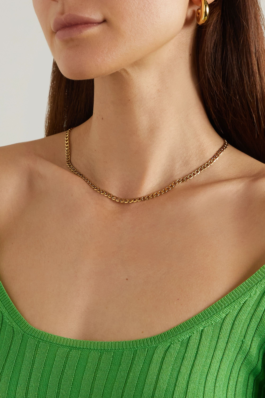 Loren Stewart + NET SUSTAIN XXL 14-karat gold necklace