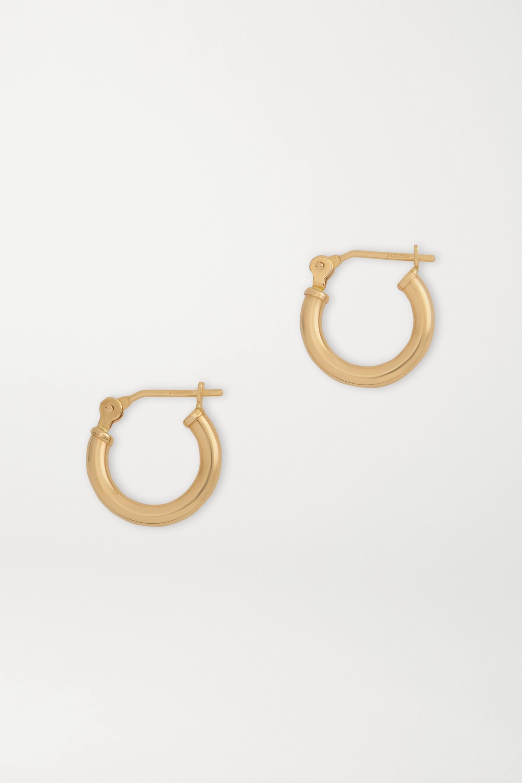 Loren Stewart Gold hoop earrings