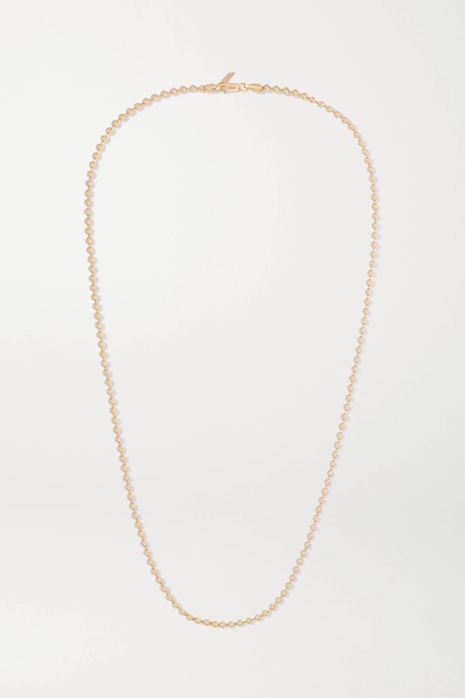 Loren Stewart + NET SUSTAIN Gold vermeil necklace