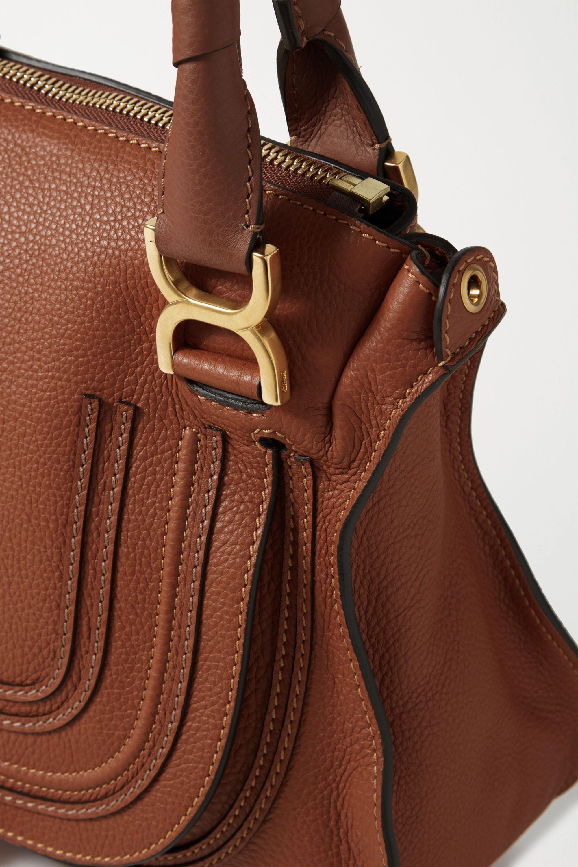 Chloé Marcie medium textured-leather tote