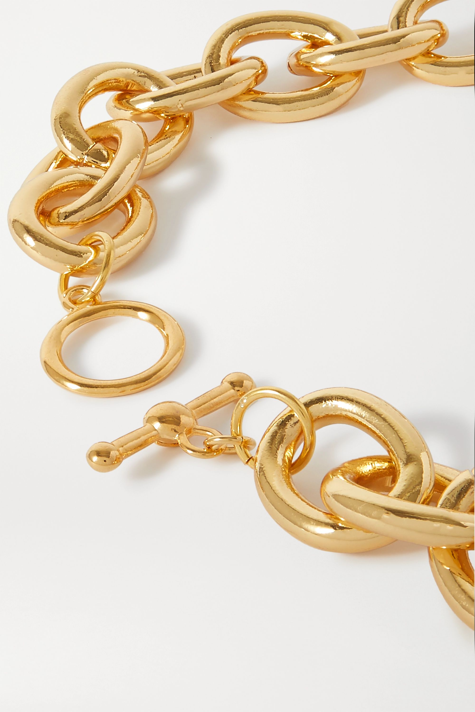 Kenneth Jay Lane Gold-tone necklace