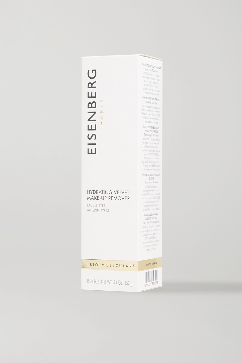 EISENBERG Paris Hydrating Velvet Make-Up Remover, 150 ml – Make-up-Entferner