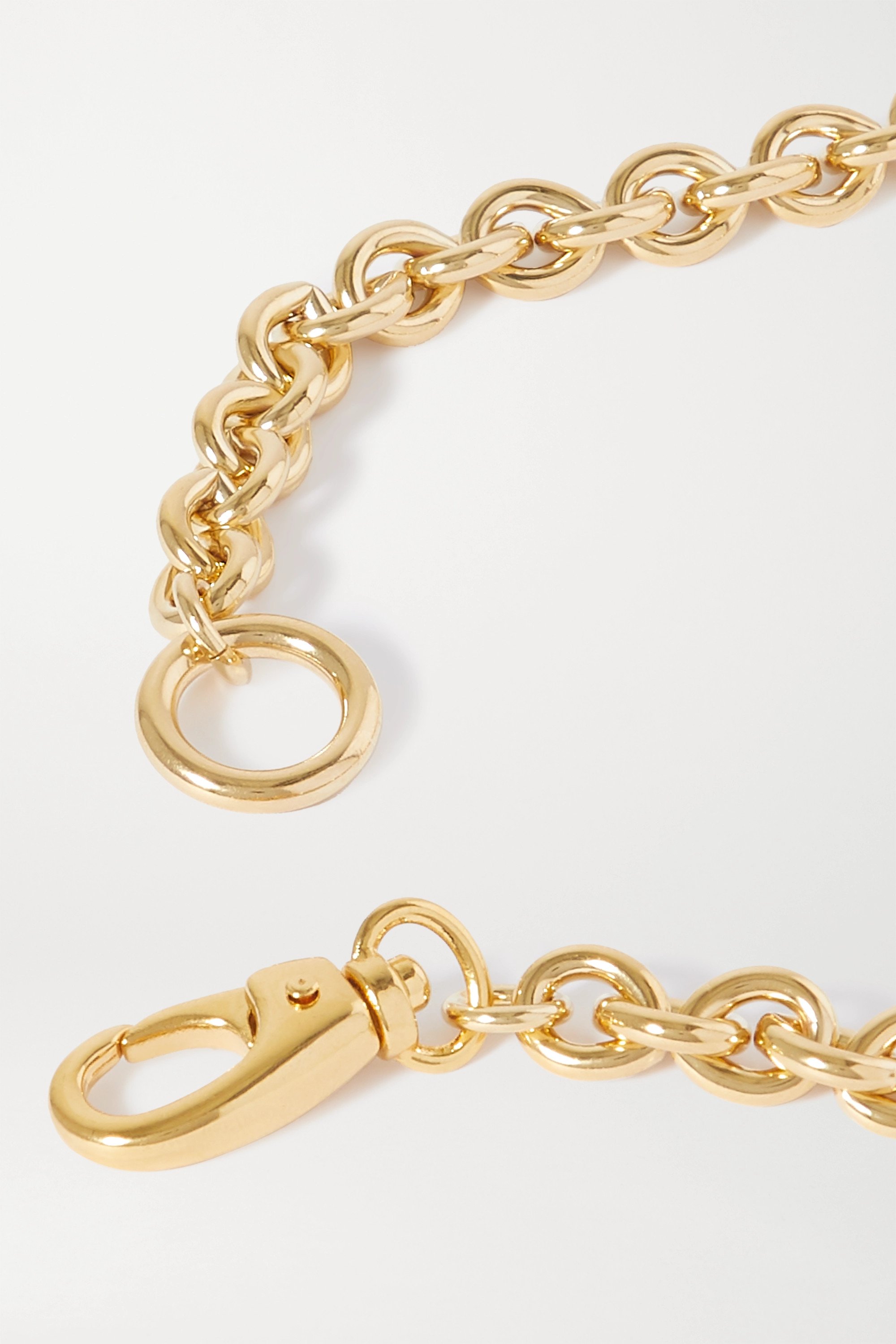 Laura Lombardi Cable gold-plated necklace