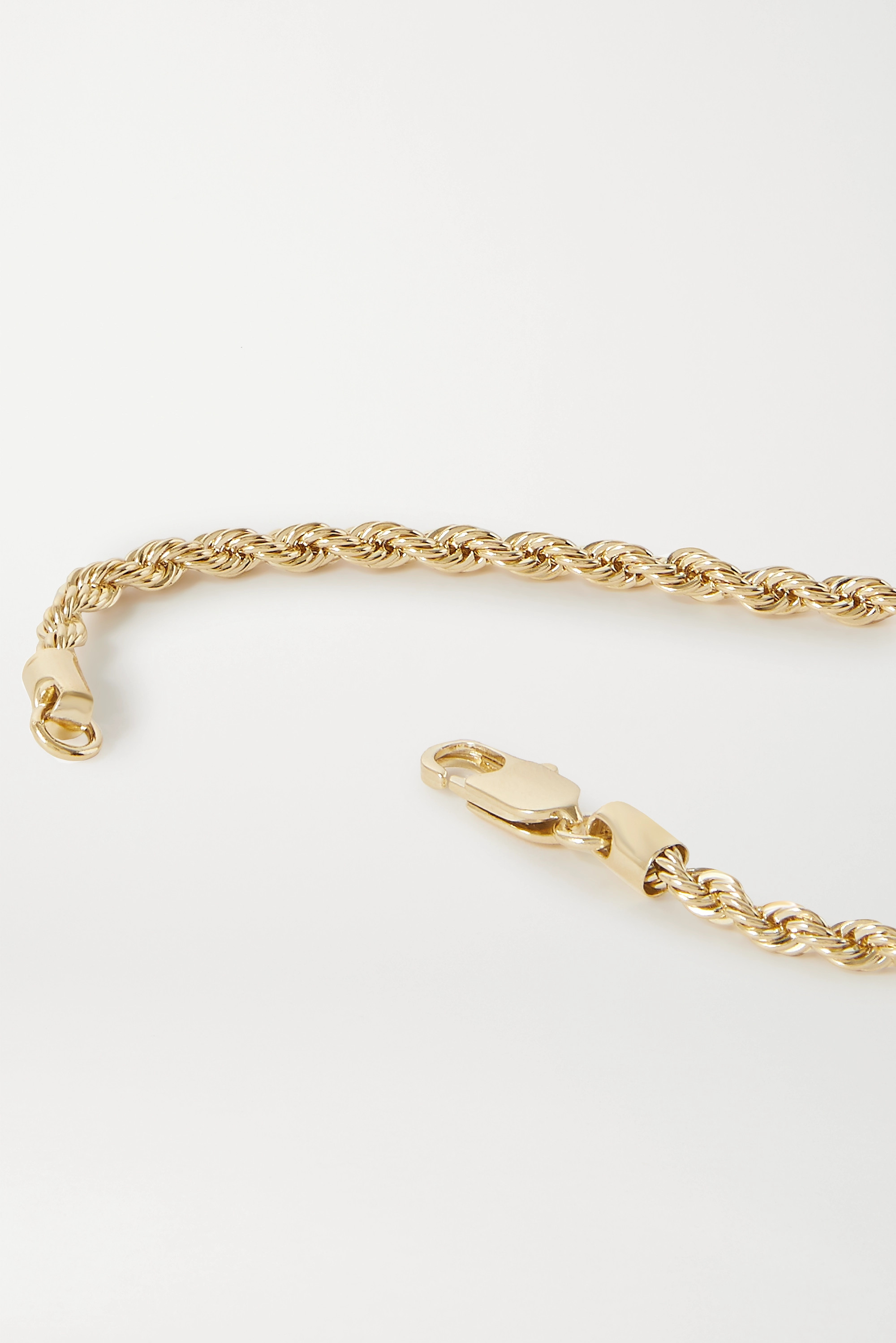 Laura Lombardi Rope gold-plated necklace