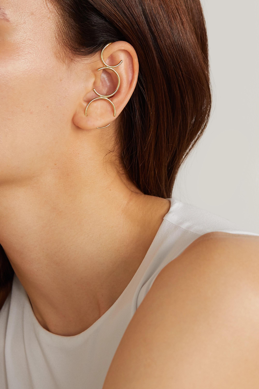 KATKIM Ear Cuff aus 18 Karat Gold