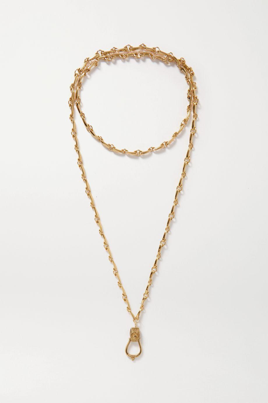 Etro 金色项链