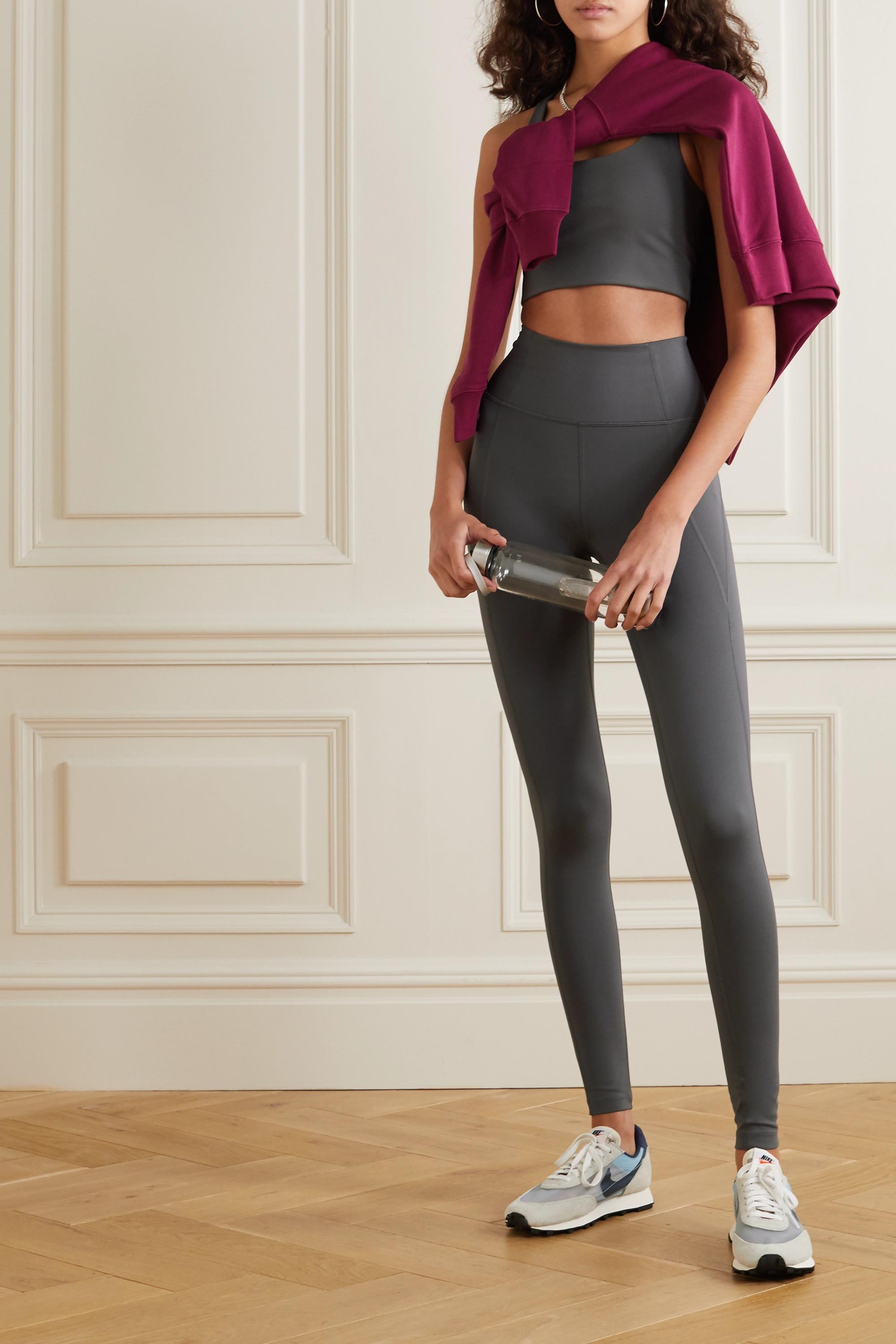 Girlfriend Collective + NET SUSTAIN Compressive stretch leggings