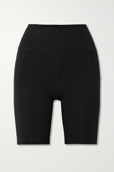 Girlfriend Collective - Bike Stretch Shorts - Black