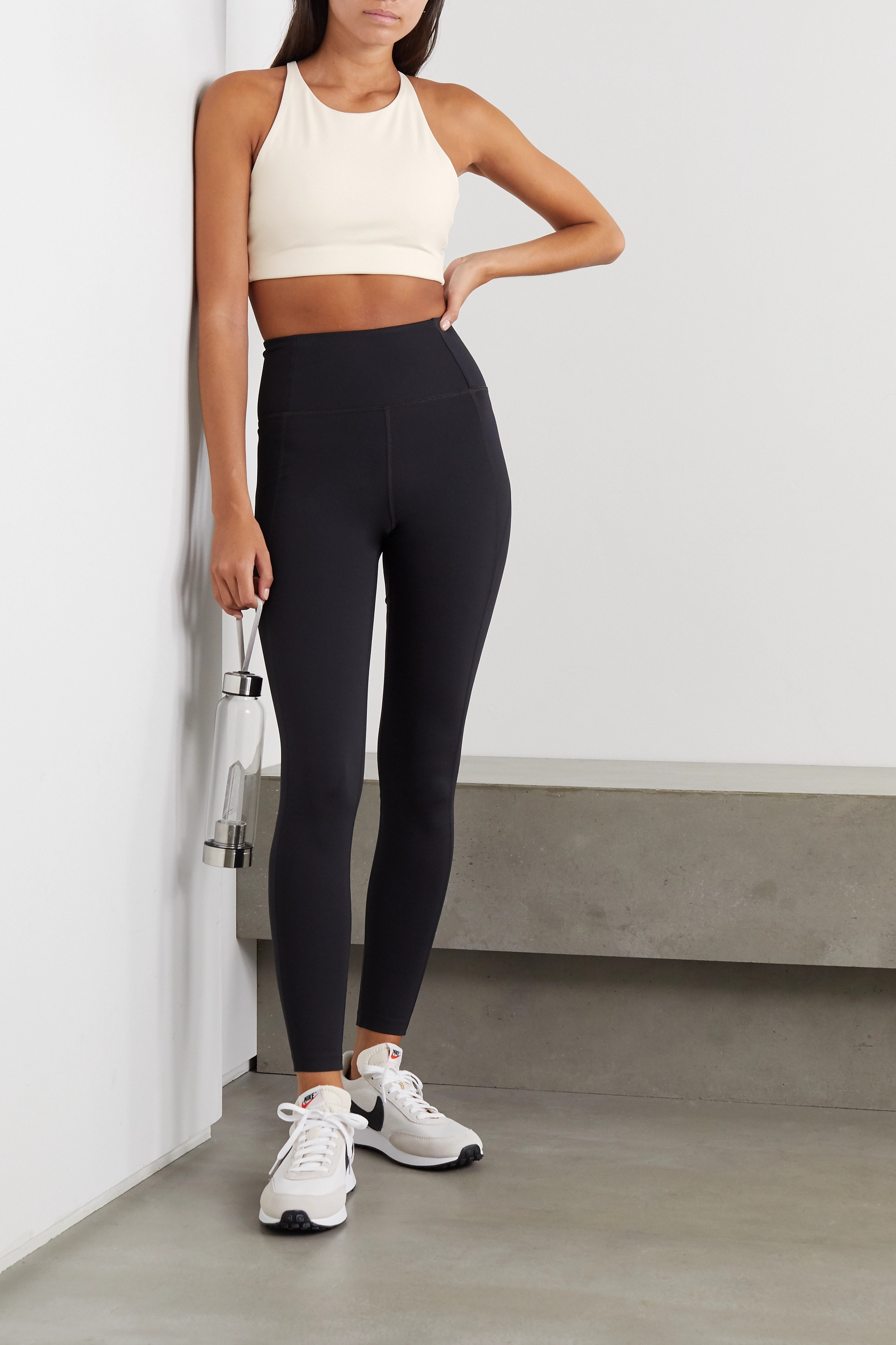 Girlfriend Collective Topanga Sport-BH aus Stretch-Material